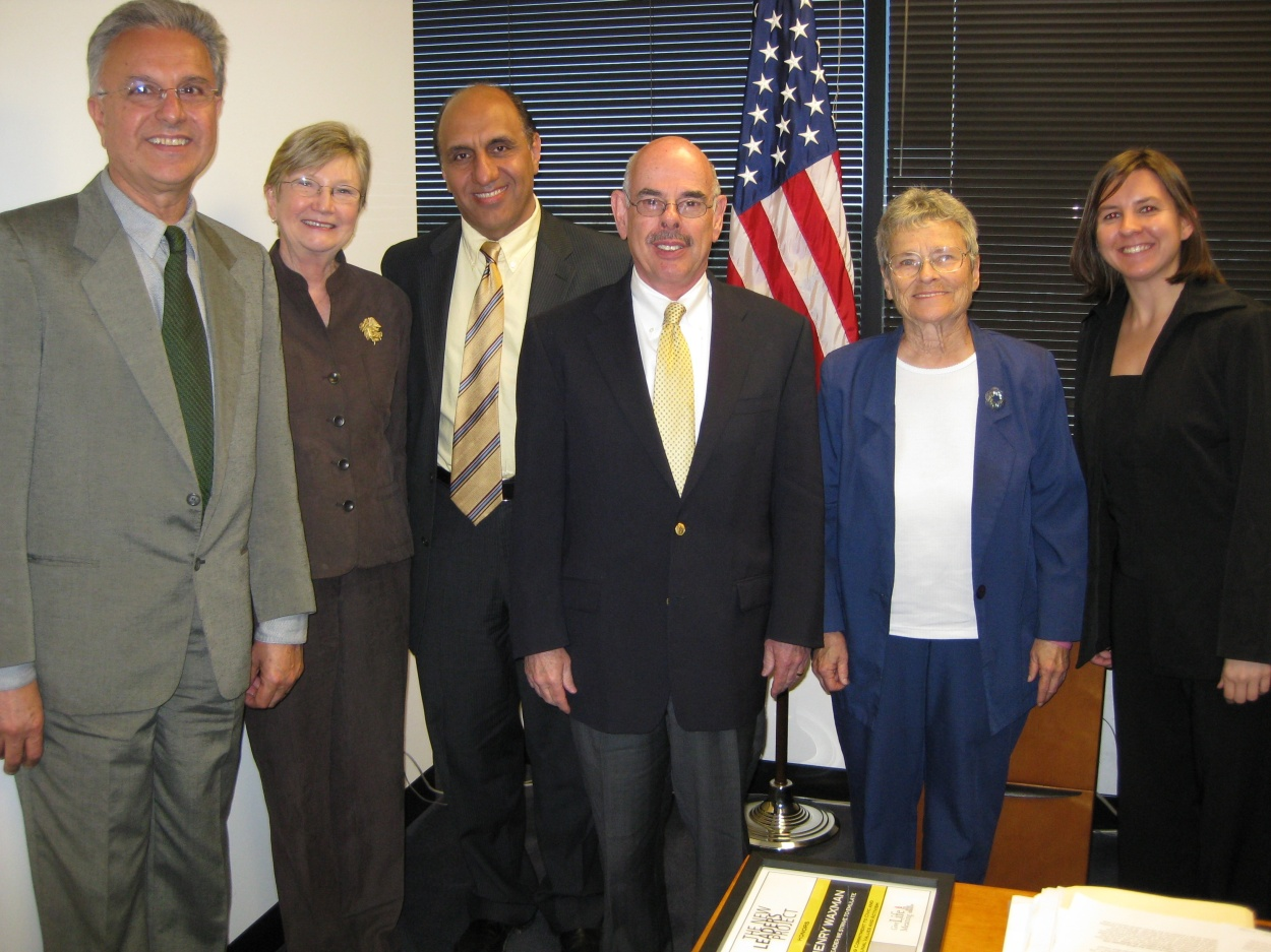 Our delegation with Rep. Waxman