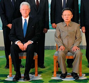 Clinton and Jong-il