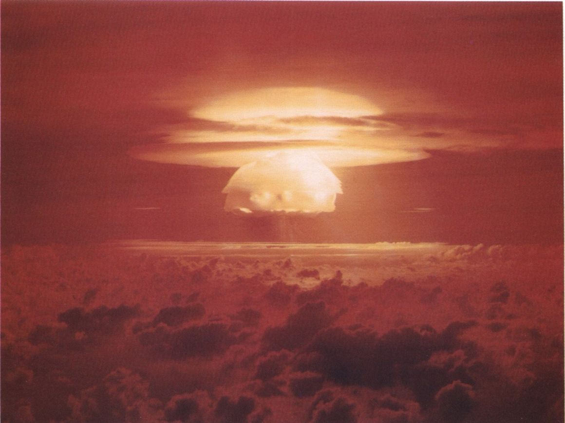 The most powerful nuclear device detonated by the US, Castle Bravo was a thermonuclear hydrogen bomb and its larger than expected fallout over the Marshall Islands forced their evacuation.