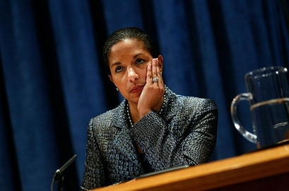 U.S. Ambassador Susan Rice tried to explain the U.S. veto saying that the U.S. opposed the settlements but the resolution would have chilled the peace process.