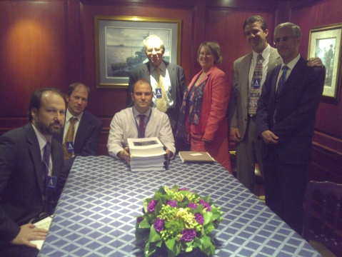 Campaign representatives meeting with Ben Rhodes, White House, May 2012